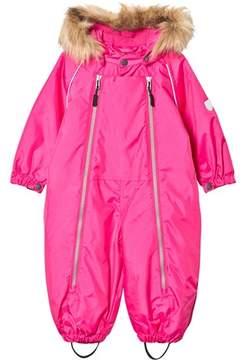 Ticket to Heaven Beetroot Snowbaggie Suit With Detachable Hood