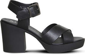 Office Marker chunky cross-strap sandals