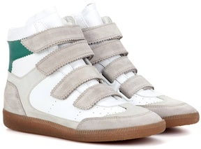 Etoile Isabel Marant Bilsy leather high-top sneakers