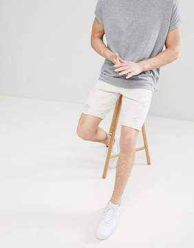 ONLY & SONS Colored Denim Shorts With Distressing