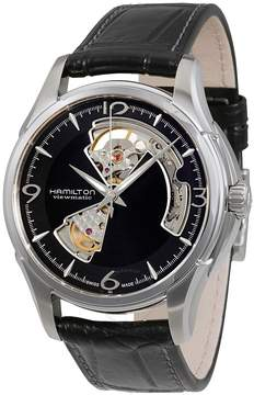 Hamilton Jazzmaster Open Heart Black Dial Automatic Men's Watch