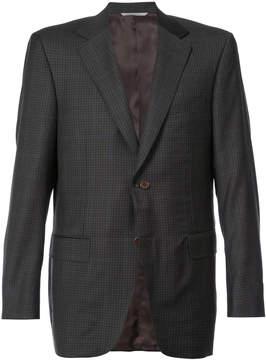 Canali plaid tailored jacket