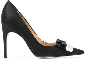 Sergio Rossi bow embellished pumps