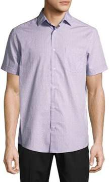 Report Collection Printed Cotton Shirt