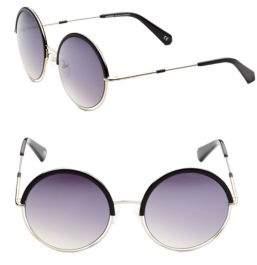 Balmain 51mm Round Sunglasses