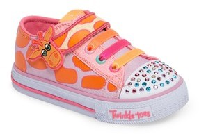 Skechers Toddler Girl's Shuffles - Party Pets Sneaker