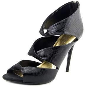 Thalia Sodi Rosanny Open-toe Canvas Heels.