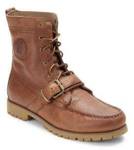 Polo Ralph Lauren Ranger Leather Ankle Boots