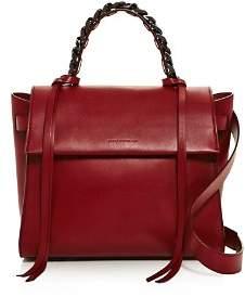 Elena Ghisellini Angel Sensua Small Leather Satchel