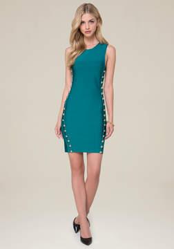 Bebe Leah Button Dress