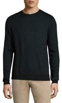 Isaia Merino Wool Crewneck Sweater