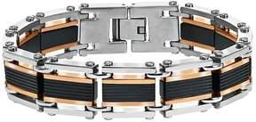 Triton Axl By AXL by Men's Tri-Tone Stainless Steel Bracelet