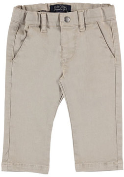 Mayoral Basic Twill Trousers, Size 6-36 Months