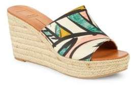 Dolce Vita Beale Printed Espadrille Wedges