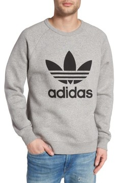 adidas Men's Trefoil Graphic Sweatshirt