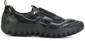 Prada cleated sole sneakers