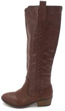 Mia Womens Sanford Closed Toe Knee High Fashion Boots.