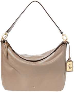 Lauren Ralph Lauren Callen Leather Shoulder Bag