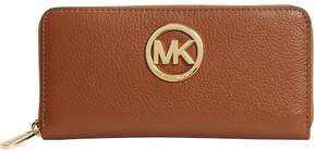 MICHAEL Michael Kors Fulton Zip-Around Continental Wallet - LUGGAGE - STYLE