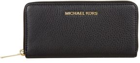 Michael Kors Bedford Zip-Around Wallet - BLACK - STYLE