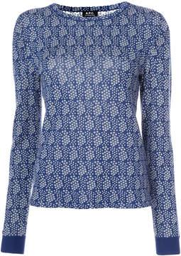 A.P.C. pattern jumper