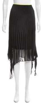 Celine Pleated Midi Skirt