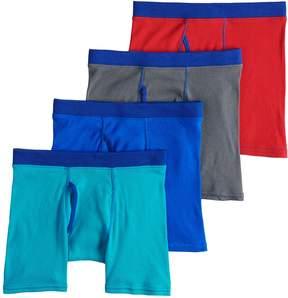 Hanes Boys 4-20 Comfort Cotton 4-Pack Boxer Briefs