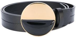 Marni disk buckle belt