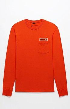 Brixton Baldwin Long Sleeve Premium Pocket T-Shirt