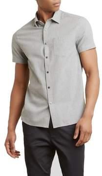 Kenneth Cole New York Short-Sleeve Snap Shirt - Men's