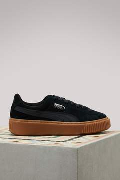 Puma Suede Platform Gum sneakers