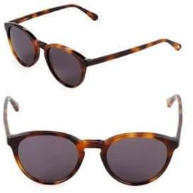 Zac Posen Kylian 48MM Round Sunglasses