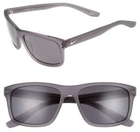 Men's Nike Flow 58Mm Sunglasses - Matte Anthracite
