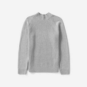 Everlane The Wool-Cashmere Rib Mockneck