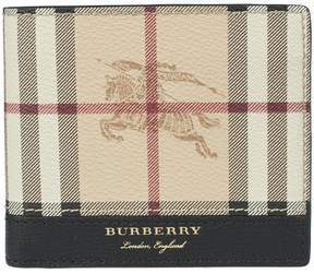 Burberry Haymaker Checked Wallet