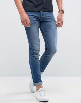 Loyalty And Faith Manor Skinny Fit Jeans in Mid Wash