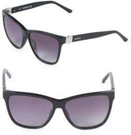 Swarovski 56MM Crystal Square Sunglasses