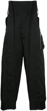 Julius high waisted utility trousers