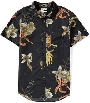 Billabong Sunday Floral Tailored Fit Short-Sleeve Shirt