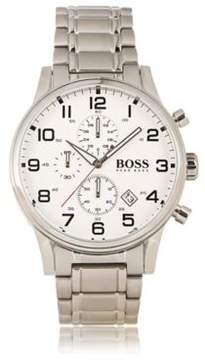 BOSS Hugo Chronograph Stainless Steel 3-Hand Quartz Watch 1513182 One Size Assorted-Pre-Pack