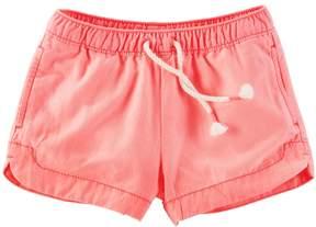 Osh Kosh Girls 4-8 Solid Shorts