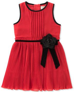 Kate Spade Girls' Pleated Chiffon Dress, Size 2-6