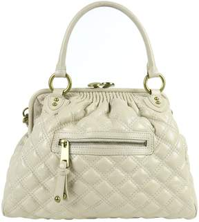 Marc Jacobs Stam leather satchel - BEIGE - STYLE