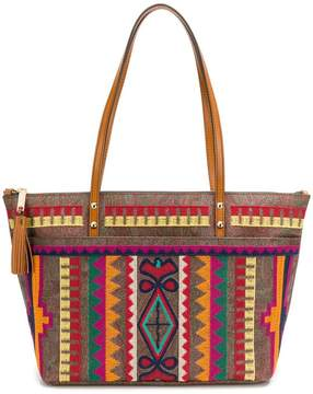 Etro embroidered tote