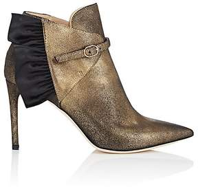 Repetto WOMEN'S METALLIC LEATHER ANKLE BOOTS