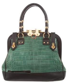 Zac Posen Crocodile Aurora Bag