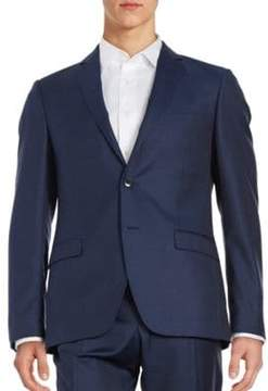 Black & Brown Black Brown Jack Fit Two-Button Wool Jacket