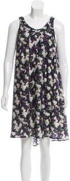 Doo.Ri Abstract Print Silk Dress