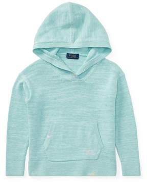 Ralph Lauren | Cotton Sweater Hoodie | 6 years | Blue