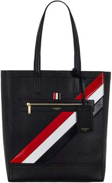 Thom Browne Striped Tote
